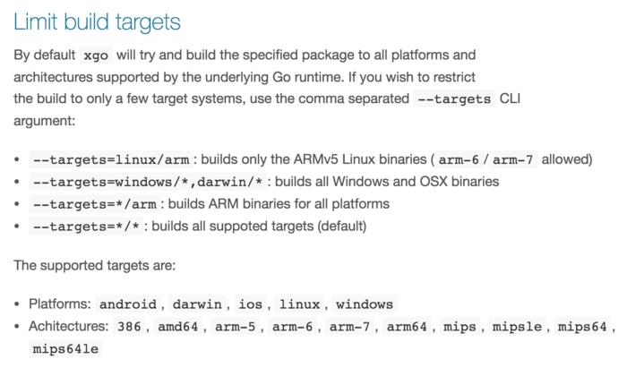 golang如何交叉编译各个平台的二进制文件详解