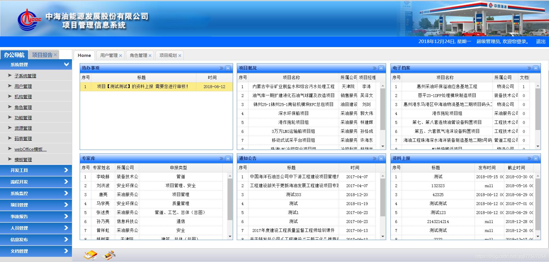 可定制化拖拽型布局的管理类系统首页- 码农教程