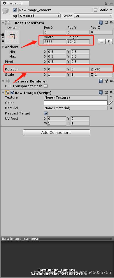 unity 获取摄像头图片被旋转处理- 码农教程